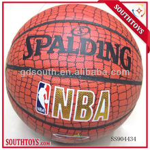 Number 7 rubber basketball toy