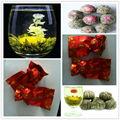 % 100 el yapımı çiçek çiçeklenme çay 20 farklı stilleri