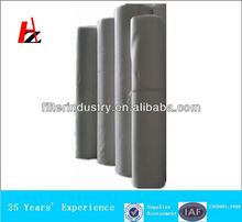 Polyester needle punched nonwoven felt for dust collector filter bag
