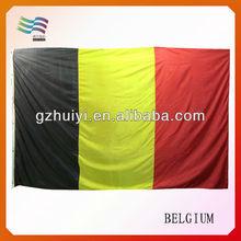 Promotional Satin Belgium National Flag