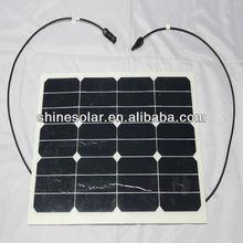 monocrystalline flexible solar panel 25w
