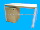 Office set table with drawer