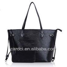 Famous brand genuine cowhide leather handbag women handbag ladies handbag
