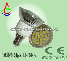 lighted ice cubes MR16 12v 24 2835 smd LED spot light warm white