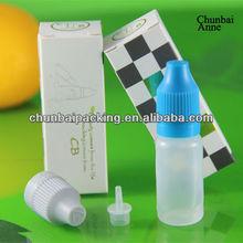 2013 popular e cigarette packaging box for bottle