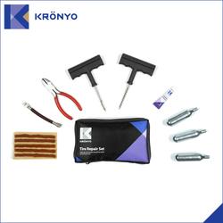 CO2 Car Tire Repair kit for car bag packing TCAR 04