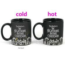 2013 unique color changing mug ceramic halloween crafts