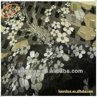 printed mahjong pattern chiffon fabric