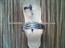 Grey color ladies rexin Patta Sandal, fashion sandal,