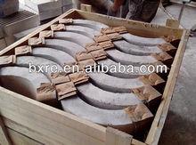 Refractory carborundum bricks for Non-ferrous Metallurgy