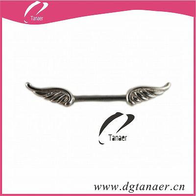 Joyer a piercing anillo del pez n alas de ngel joyer a for Angel wings nipple piercing jewelry