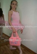 Pink Color Ballet Cute Designed Children Hand Bag