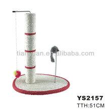 design cat scratching tree China manufacturer(YS2157)