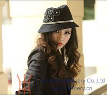 New wool felt hat winter hats for women