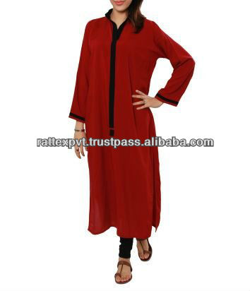 Latest New Designs Womens Long Kurtis Photo, Detailed about Latest ...