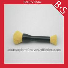 Professional two sides makeup brush,two sides foundation/powder makeup/cosmetic brush,custom logo makeup brush
