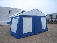 Hard Floor trailer tent - front open