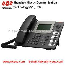 4 SIP lines IP Phone
