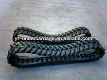 Rubber Track for Komatsu Mini Excavator PC28UU PC20R PC15R PC20