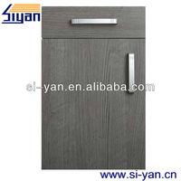 wooden door of office pantry
