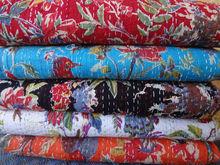 Indian New Vinatge Kantha quilt handmade