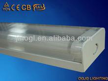Stairway éclairage intérieur led, pc diffuse t5 luminaires fluorescents, t5 diffusée latte luminaire