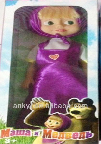 Mawa H MEABEAB boneca de plástico da boneca do russo