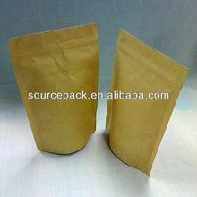 ziplock seal kraft paper bag kraft paper bag coffee packaging