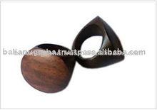 High Quality Sono New Design Costume Fashion Wood Ring