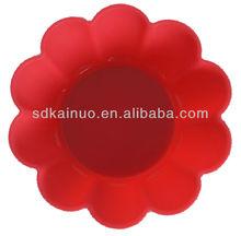 flower shape mini silicone pudding mold