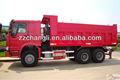 6x4 Otomatik römork 10 tonluk damperli kamyon damperli kamyon