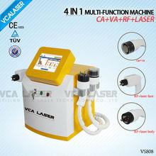Tipolar RF+laser+Vacuum+cavitation slimming device