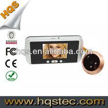 3.2inch High Definition Digital Door Viewer Support Video Message