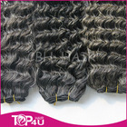 mongolian kinky curly grey hair extension