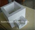 materiales refractarios moldeables de filtración de la caja