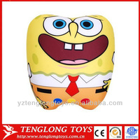 customized stuffed toys spandex fabric SpongeBob SquarePants toy