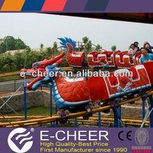 20 seats kids' rides sliding dragon/mini roller coaster for kids