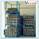 Gravity pallet racking/storage stacking rack/container