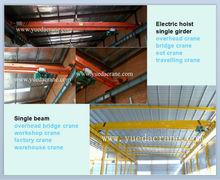 1 - 20 ton indoor overhead crane