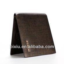 Exquisite workmanship genuine pigskin leather wallet man