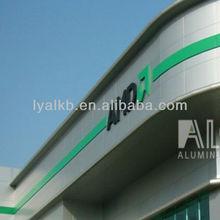exterior aluminium composite panel pvdf for fashional building