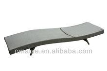outdoor aluminium furniture sun bed lounger