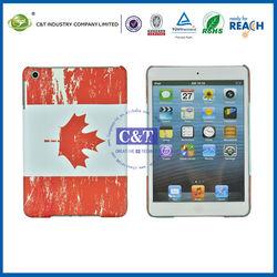 C&T Popular flag pattern hard case for ipad mini apple