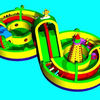 giant inflatable slide for sale large business slide