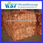 No greasy copper scrap supplier best price
