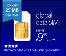 3g Data Simcard