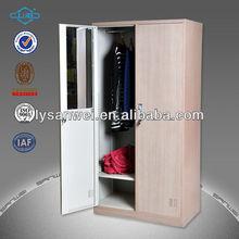 customized metal 2 door locker steel cupboard design