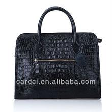 2014 Hot selling designer hand bags branded name high quality cowskin leather handbag