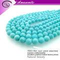 2013 nuevo producto 12mm aaa grado amazonita ronda de piedras preciosas joyas