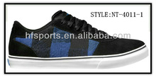 Low Cut Rubber Outsole Casual Custom Skate Shoes